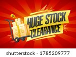 Huge Stock Clearance Vector...