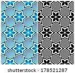 seamless floral pattern. vector ...   Shutterstock .eps vector #178521287