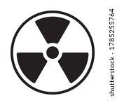 Radioactive Symbol Icon....