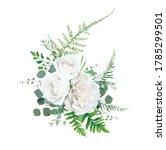 vector floral bouquet design ... | Shutterstock .eps vector #1785299501