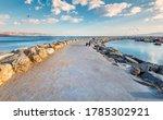 Morning On Walking Stone Pier...