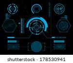 sci fi futuristic user... | Shutterstock .eps vector #178530941