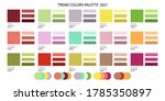fashion color trend 2020 2021...   Shutterstock .eps vector #1785350897