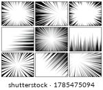 comic book radial lines... | Shutterstock .eps vector #1785475094