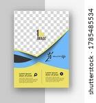 healthcare brochure  flyer ... | Shutterstock .eps vector #1785485534