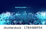 vector sound wave. abstract... | Shutterstock .eps vector #1785488954