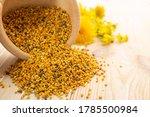 macro shot of bee pollen or... | Shutterstock . vector #1785500984