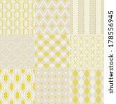 seamless retro geometric... | Shutterstock .eps vector #178556945
