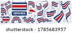 vector set of the national flag ... | Shutterstock .eps vector #1785683957