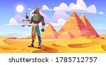 anubis egyptian god  ancient...   Shutterstock .eps vector #1785712757