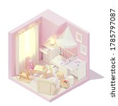 vector isometric kid or... | Shutterstock .eps vector #1785797087
