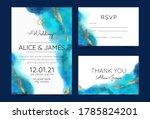 wedding invitation cards ... | Shutterstock .eps vector #1785824201