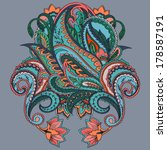 Paisley Tattoo Meaning Vector Download 564 Vectors Page 3