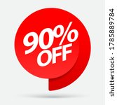 sale of special offers.... | Shutterstock .eps vector #1785889784