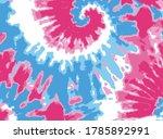 tie dye art abstract background | Shutterstock .eps vector #1785892991