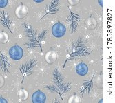 Christmas Background Fir Tree...