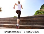 healthy lifestyle sports woman... | Shutterstock . vector #178599521
