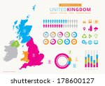 uk population infographic with... | Shutterstock .eps vector #178600127