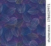 seamless dark blue abstract ... | Shutterstock .eps vector #1786029971