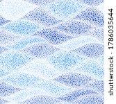 seamless wavy pattern. summer... | Shutterstock .eps vector #1786035644