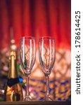 empty glasses   Shutterstock . vector #178614425