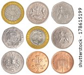 England Circulating Coins...