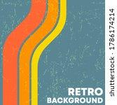 retro grunge texture background ...   Shutterstock .eps vector #1786174214