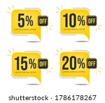 5  off  10  off  15 0ff and 20  ... | Shutterstock .eps vector #1786178267