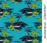 beautiful vector tropical | Shutterstock .eps vector #178619567
