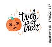halloween   happy halloween ...   Shutterstock .eps vector #1786224167