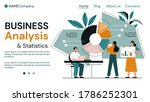 business analysis and teamwork...   Shutterstock .eps vector #1786252301