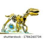 Velociraptor Robot Iis On The...