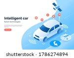 smart car technology... | Shutterstock .eps vector #1786274894
