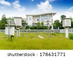 the weather station in the... | Shutterstock . vector #178631771