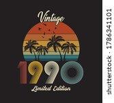 1990 Vintage Retro T Shirt...