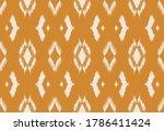ikat geometric folklore... | Shutterstock .eps vector #1786411424