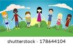 children's world | Shutterstock .eps vector #178644104