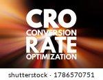 cro   conversion rate... | Shutterstock . vector #1786570751