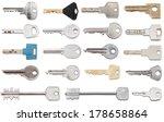 Set Of Different Door Keys...