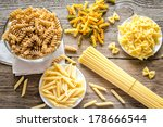 various types of pasta | Shutterstock . vector #178666544
