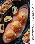 Various Breads Arranged On A...