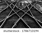 Railway Tracks With Switches...