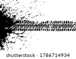 vector abstract ink on white...   Shutterstock .eps vector #1786714934