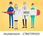 doctors. a group of medical... | Shutterstock . vector #1786739324