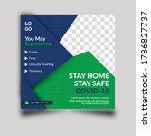medical social media post... | Shutterstock . vector #1786827737