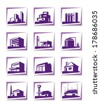 different types of construction ... | Shutterstock .eps vector #178686035