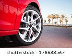 car wheel in summer | Shutterstock . vector #178688567