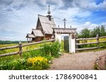 The Old Wooden Church Of The...