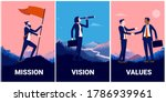 mission vision and values... | Shutterstock .eps vector #1786939961