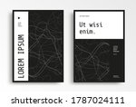cover layout design for annual... | Shutterstock .eps vector #1787024111